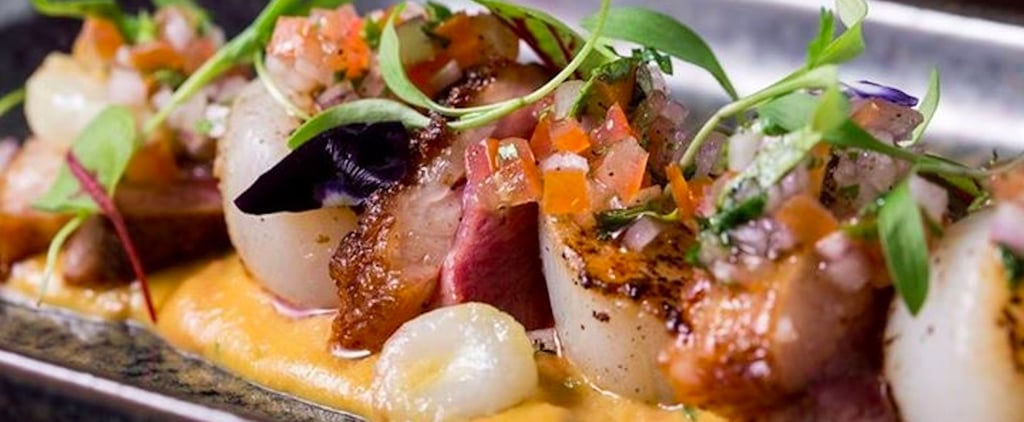 Inka Dubai's Sliced Duck Magret and Seared Scallops Recipe