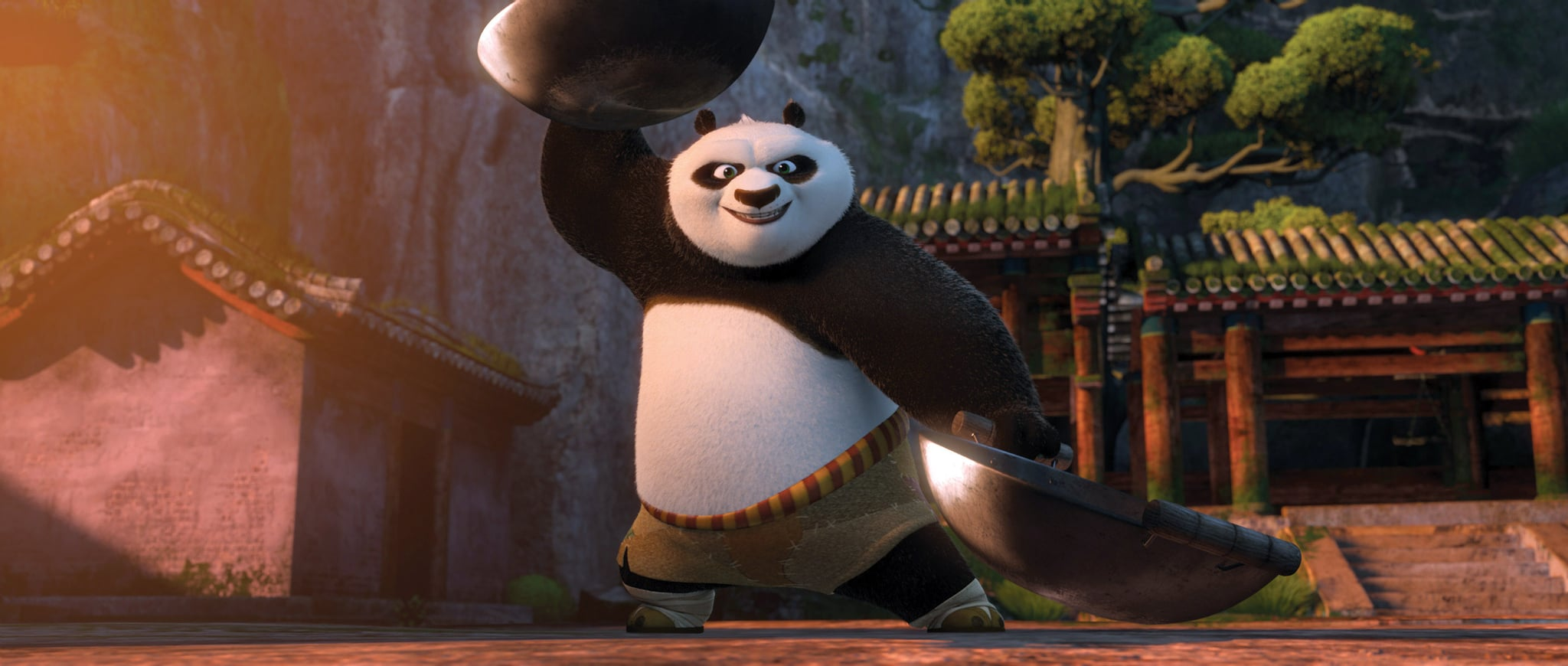 KUNG FU PANDA 2, Po (voice: Jack Black), 2011. Paramount Pictures/courtesy Everett Collection