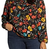 Gibson Ruched Yoke Top