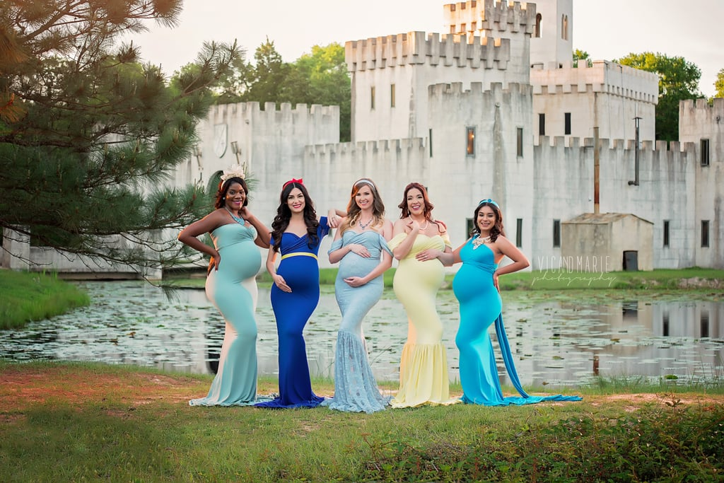 This Enchanting Princess Maternity Photo Shoot Is Pure Disney Magic