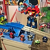 Optimus Prime Race Track Trailer