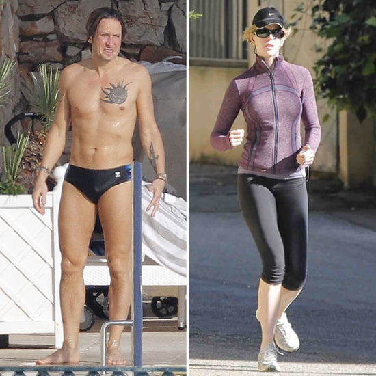 Keith Urban Wears a Speedo on His Birthday | Pictures