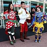 Mandalorian Snow White, Lilo, and Prince Charming