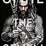 When he embodied an actual Atlantean god on his Aquaman poster.