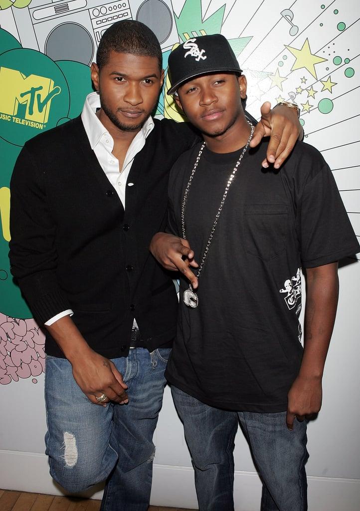 Usher Raymond and James Lackey