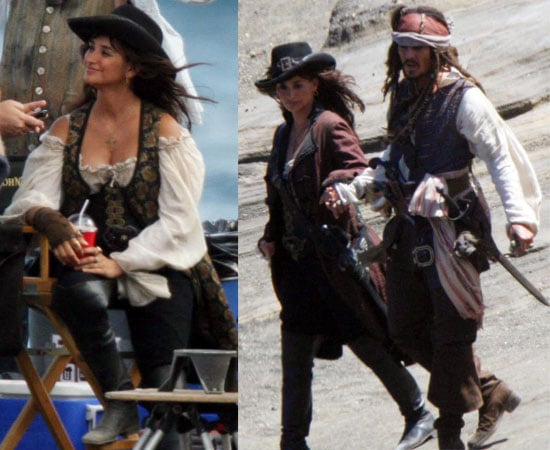 Pictures from PotC 4 Set