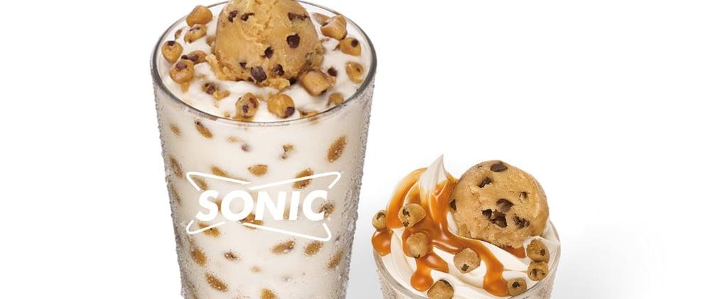 Sonic Big Scoop Cookie Dough Sundae