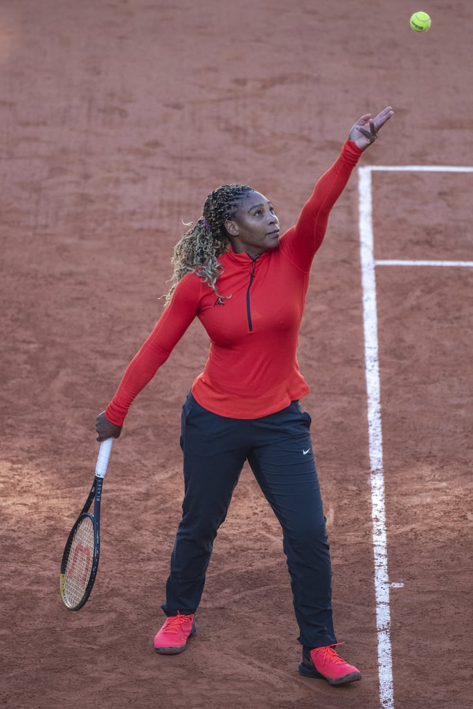 Serena Williams's 2020 French Open Outfit Was Perfect For Competing in the Fall in Paris