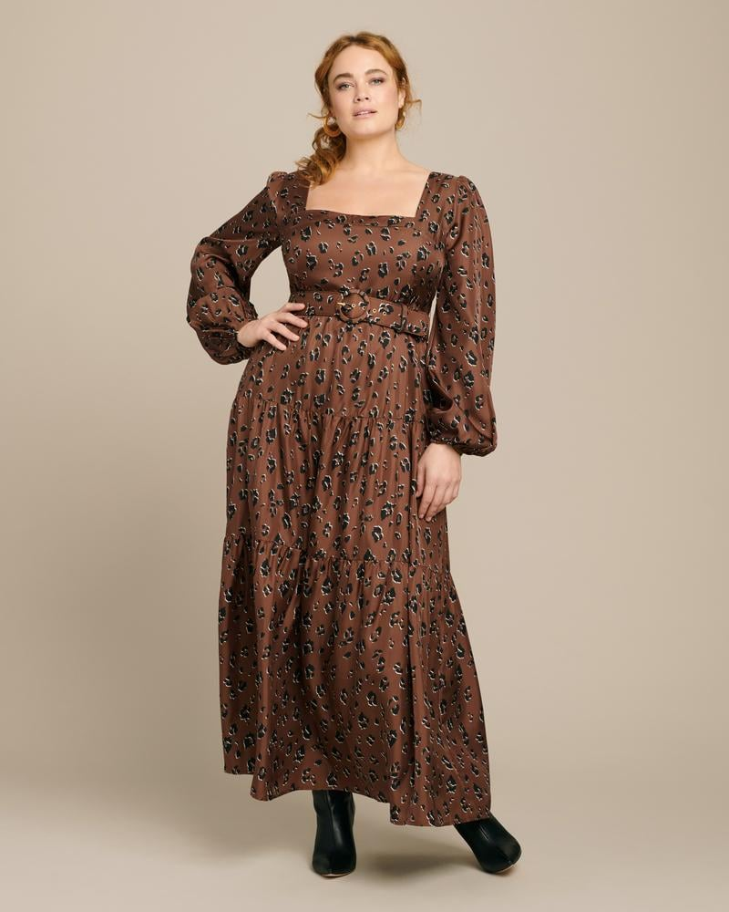 Nicholas Tiered Maxi Dress