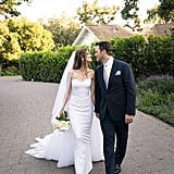 Katherine Schwarzenegger's Armani Wedding Dress For the Ceremony