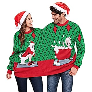 Ugly Christmas Sweaters For Couples 2018