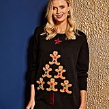Gingerbread Tree Christmas Jumper
