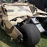 Bane's Tumbler in The Dark Knight Rises.