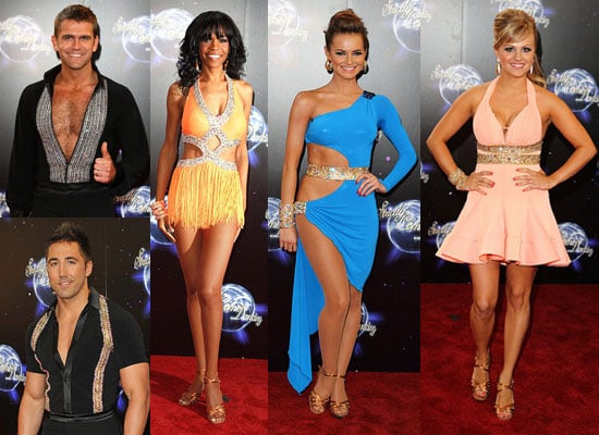 Pictures of Strictly Come Dancing Celebrity Lineup 2010 at Red Carpet Launch Event Meeting Their Pro Dance Partners