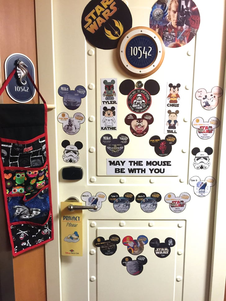 Bring supplies to deck out your door disney cruise tips for Loveland tattoo shops
