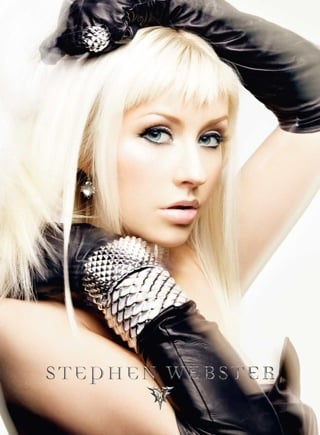 Christina Aguilera For Stephen Webster 2009 Ad Campaign
