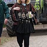 Adele at Glastonbury 2015