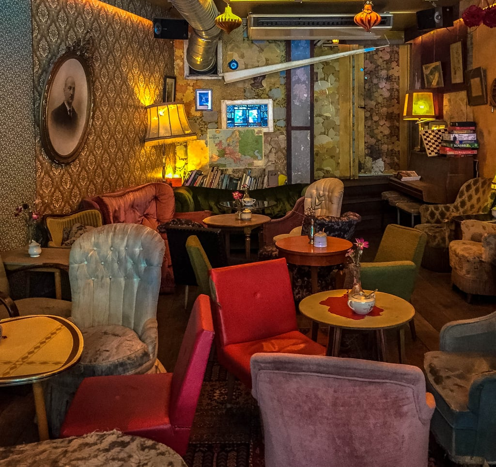 Now if cocktails and eclectic vibes are more of your scene, you're going to adore Cafe Brecht. From the retro vintage vibe to the faded furnishings and era-appropriate wallpaper, you will instantly feel as if you've travelled back in time. This Berlin-style bar is definitely worth a visit, not to mention the craft cocktails are quite satisfying, too.