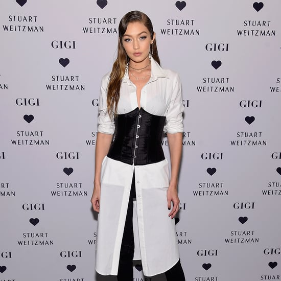 Gigi Hadid Designs Her Own Stuart Weitzman Boot