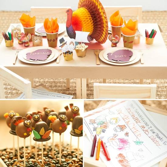 Thanksgiving Kids' Table Ideas