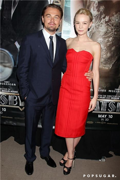 Leonardo DiCaprio paired up with costar Carey Mulligan on the black carpet at The Great Gatsby's star-studded premiere in NYC.