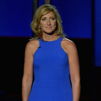 Edie Falco Tribute to James Gandolfini at the Emmys