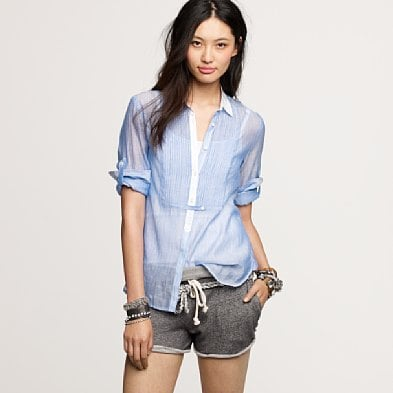 J.Crew Sheer Voile Top ($90)