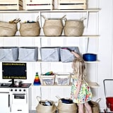 Bins and Baskets in Varying Sizes