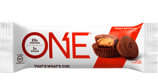 One Peanut Butter Cup Protein Bar