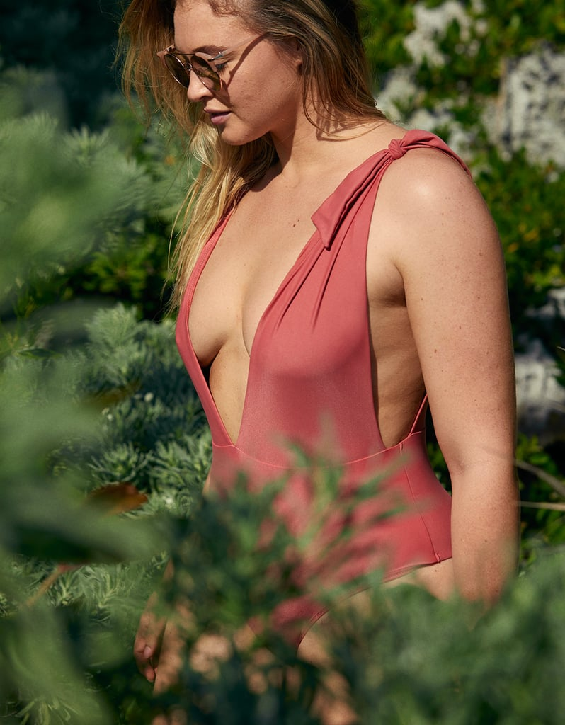 20ac275b0c9 Aerie Tie Strap One Piece Swimsuit ($30, originally $50) | Iskra ...