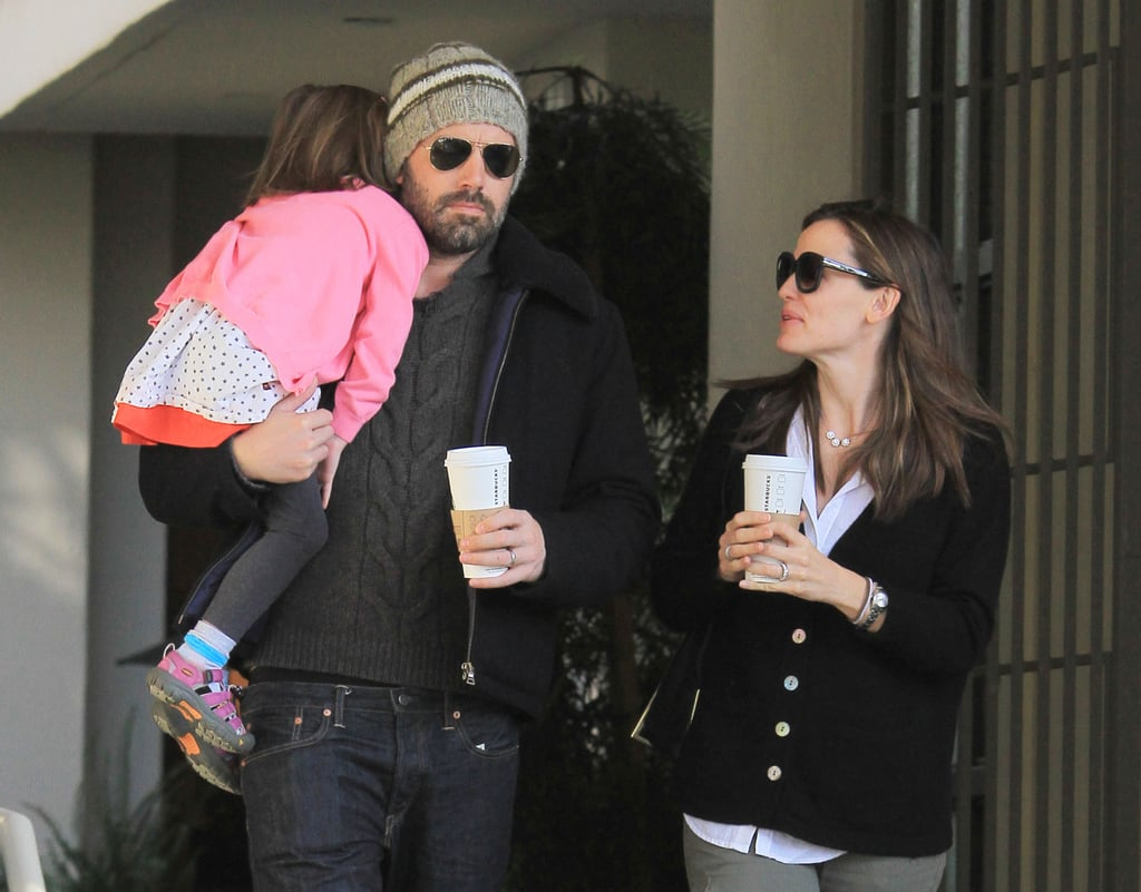 Ben and Jen Juggle a Coffee Date With Seraphina