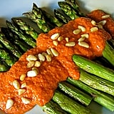 Asparagus With Romesco Sauce
