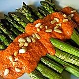 Asparagus With Romesco Sauce