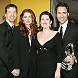 Sean Hayes, Debra Messing, Megan Mullally, and Eric McCormack; 2005 People's Choice Awards