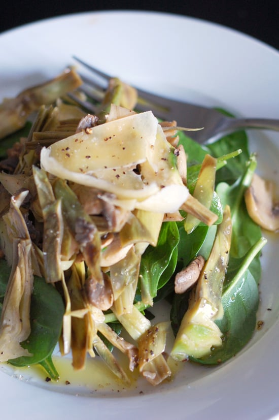 What to Make: Warm Artichoke Salad
