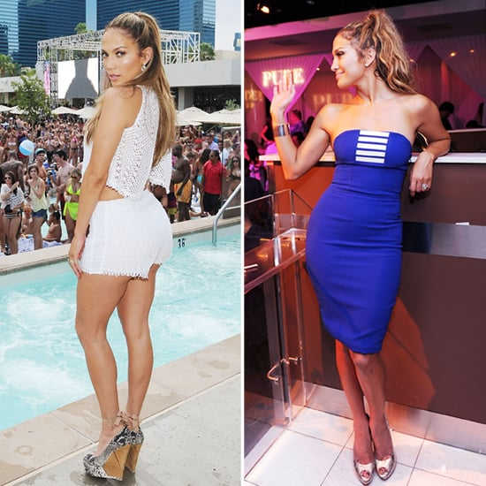 Jennifer Lopez Las Vegas Party Pictures