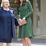 Kate Middleton Green Emilia Wickstead Dress May 2019