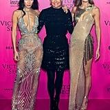 Yolanda Foster, Gigi Hadid, and Bella Hadid