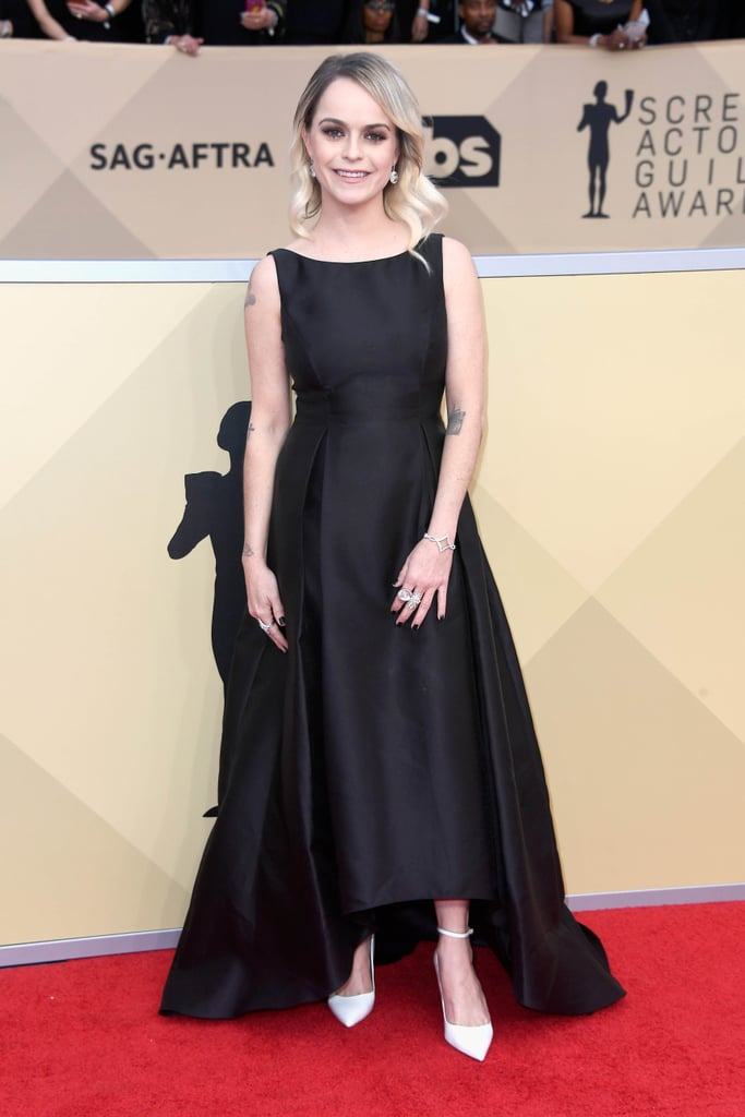 Taryn Manning Black Dress at SAG Awards 2018