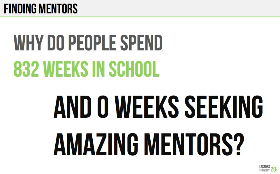 We Often Forget About the Importance of a Mentor