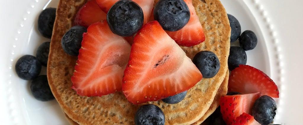 Whole-Wheat Protein Pancakes Recipe