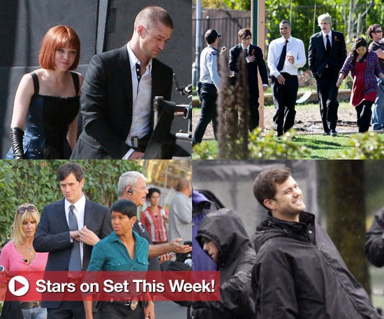 Justin Timberlake, the Cast of Glee, and More in Stars on Set This Week!