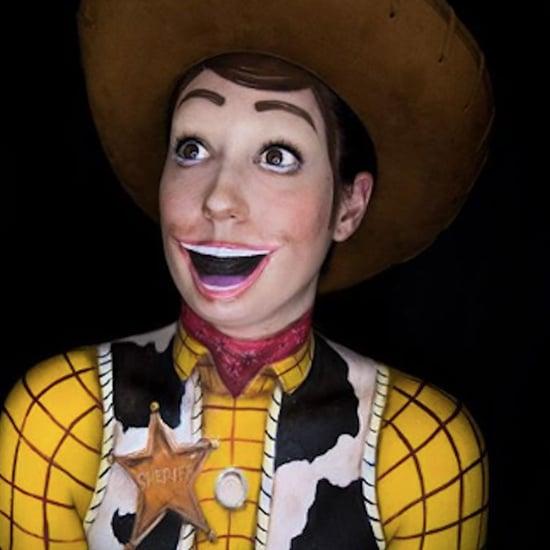 Pixar Halloween Makeup