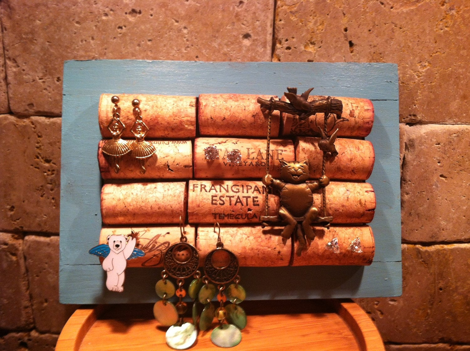 Cork Jewelry Holder | 221 Upcycling Ideas That Will Blow ...