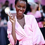 Herieth Paul Gave a Smile and Peace Sign to the Cameras