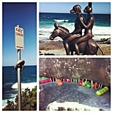PopSugar's Jess spent the weekend taking in the sights at Sculpture by the Sea.
