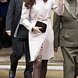 Kate in Cambridge in 2012