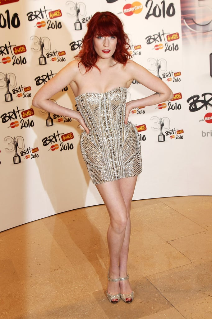 3ed153d691d5 February 2010: The Brit Awards | Style Stalk: The New Muse Of Gucci ...