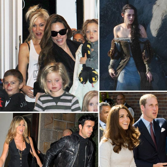 The Jolie-Pitts Playdate With Gwen, Kristen as Snow White, Jennifer and Justin in NYC, and More in This Week in Pictures!
