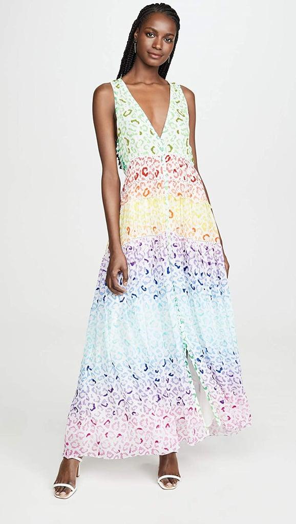Rococo Sand Sleeveless Long Dress
